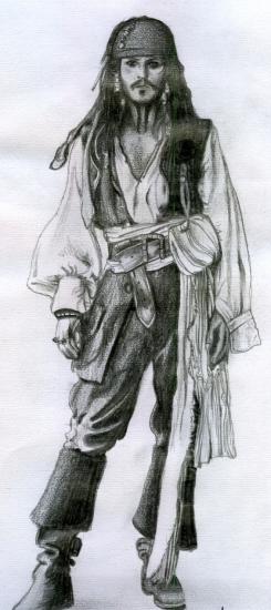 Johnny Depp by akinosa
